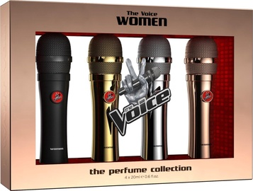 Komplekts sievietēm The Voice Classic Women 4pcs Set 80ml EDT