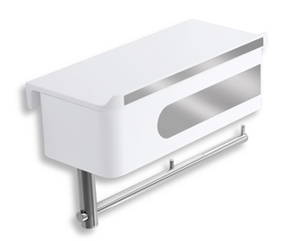 Novaservis Toilet Paper Holder Box Yacore 24x15cm