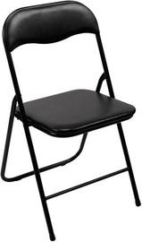 Saliekamais krēsls Verners 380x780x430mm Black