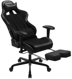 Spēļu krēsls Songmics Racing, melna
