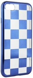 Mocco ElectroPlate Chess Back Case For Huawei P9 Lite 2017 Blue