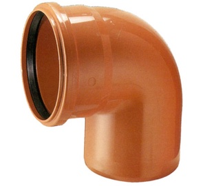 Wavin Elbow Pipe Brown 88,5° 110mm