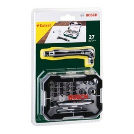 Bosch Screwdriver Bit And Ratchet Set 27pcs