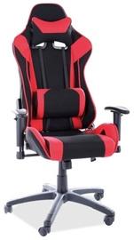 Офисный стул Signal Meble Viper, черный/красный