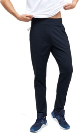 Audimas Functional Tapered Fit Sweatpants Black/Blue 176/XL