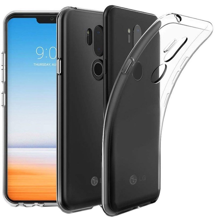 Mocco Ultra Back Case 1mm For LG K10 2017 Transparent