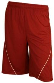 Bars Mens Basketball Shorts Red/White 182 XXL