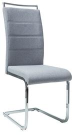 Ēdamistabas krēsls Signal Meble H441 Fabric Grey, 1 gab.