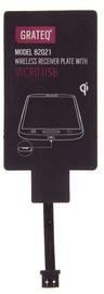 Bezvadu lādētāja uztvērējs Grateq QI Wireless Receiver Plate For Micro USB 82021