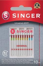 Singer Universal Needles ASST For Woven Fabrics 10pcs