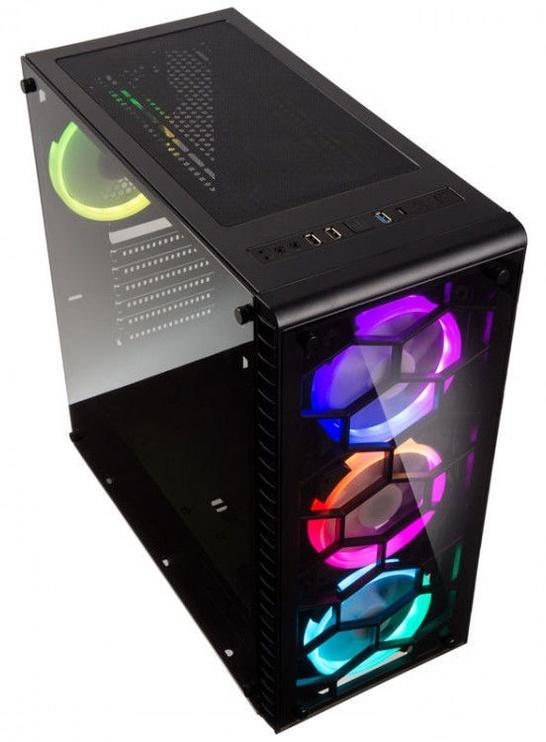 Kolink Case Observatory RGB Tempered Glass Black