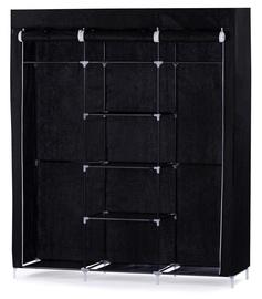 Гардероб Homede Calen, черный, 150x45x175 см