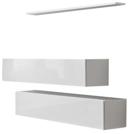 ASM Switch SB II Hanging Cabinet/Shelf Set White