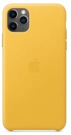 Apple Leather Back Case For Apple iPhone 11 Pro Max Meyer Lemon