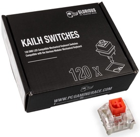 Glorious PC Gaming Race Kailh Red Switches 120pcs