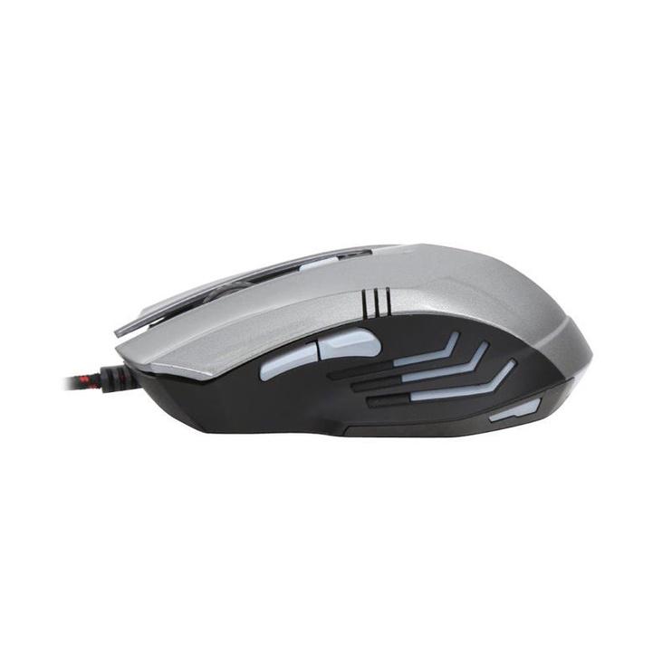 Spēļu pele Platinet Omega Varr OM-267 Grey, vadu, optiskā