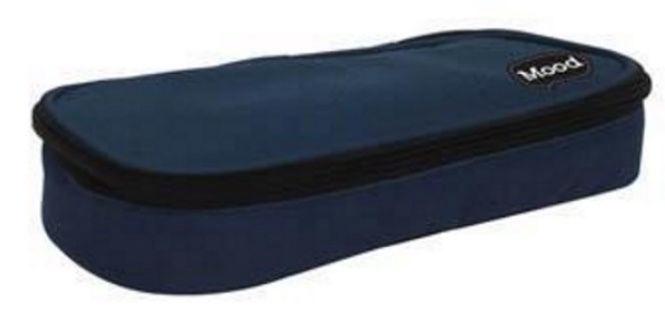 Mood Omega Pencil Case Dark Blue