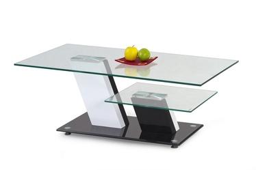 Kafijas galdiņš Halmar Savana Black/White, 1100x600x450 mm
