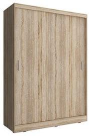 Skapis Piaski Wiki 130 Sonoma Oak, 130x62x200 cm