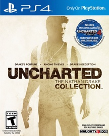 PlayStation 4 (PS4) spēle Uncharted The Nathan Drake Collection PS4