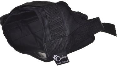 Uzpurnis Chaba Universal Adjustable Muzzle For Dogs 2 Black 15/20cm