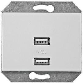 Ligzda Vilma Electric XP500 USB Socket 111054201137 White