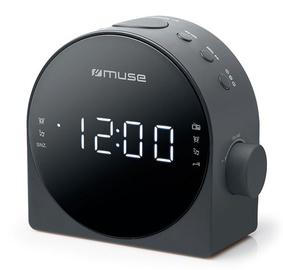 Mobilais radiouztvērējs Muse Alarm Clock Radio M-185CR Black
