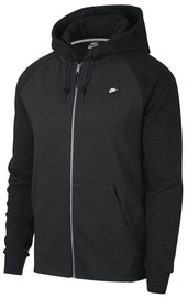 Nike Mens Full Zip Optic Hoodie 928475 010 Black M