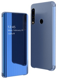 Hurtel Flip View Cover For Huawei P30 Lite Blue