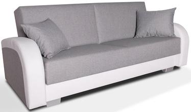 Dīvāngulta Platan Magda White/Grey, 220 x 85 x 90 cm