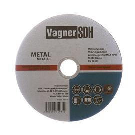 Disks tērauda griešanai Vagner SDH 150x1,6x22,23mm