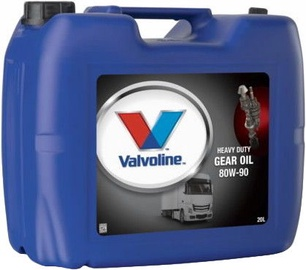 Valvoline Light & Heavy Duty Gear Oil 80w90 20l