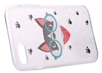 Devia Nifty Cat Back Case For Apple iPhone 7/8 Transparent