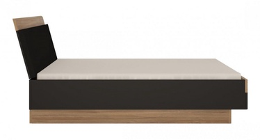 Gulta MN Monaco Oak/Black, 160 x 200 cm