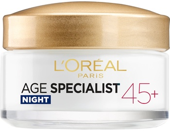 Sejas krēms L´Oreal Paris Age Specialist 45+ Night Cream, 50 ml