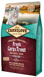 Carnilove Sterilised Cat Fresh Carp & Trout 6kg