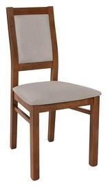 Ēdamistabas krēsls Black Red White Paella Grey, 1 gab.