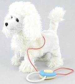 Interaktīva rotaļlieta Tommy Toys Pet Dog White