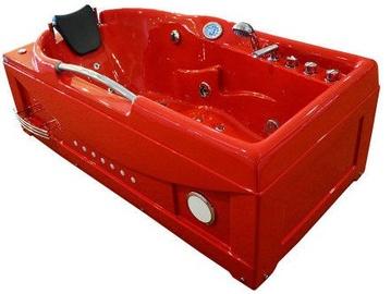 SN Bath O1634 168x87x60cm Red