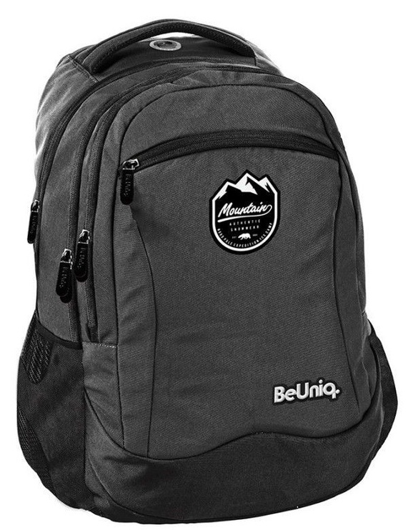 Рюкзак Paso BeUniq Mountains w/ Pencil Case Dark Grey