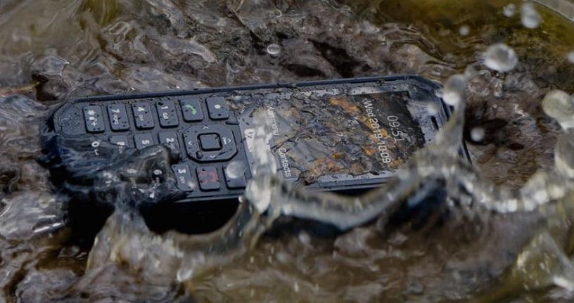 Mobilais telefons Caterpillar CAT B26, melna, 8MB/8MB