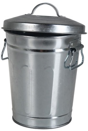 Verners Metal Bucket With Lid 12l