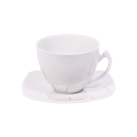 Domoletti Akcent 249 Gold Cup And Saucer 250ml/14cm