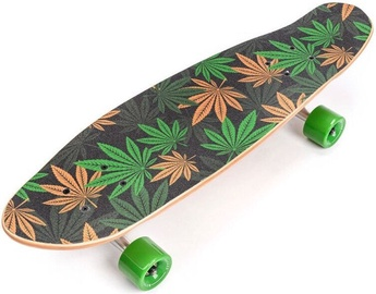 Meteor Cannabis Skateboard 22595 Green