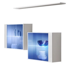 ASM Switch SB III Hanging Cabinet/Shelf Set White