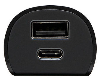 Otterbox USB/USB Type-C Car Charger Black