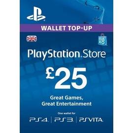 Sony PSN Card 25 GBP UK PSN IDs Only