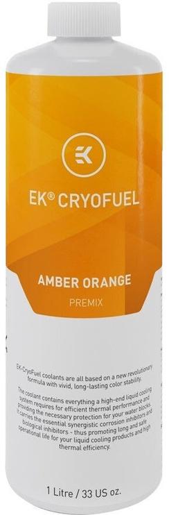 EK Water Blocks EK-CryoFuel Amber Orange (Premix 1000mL)