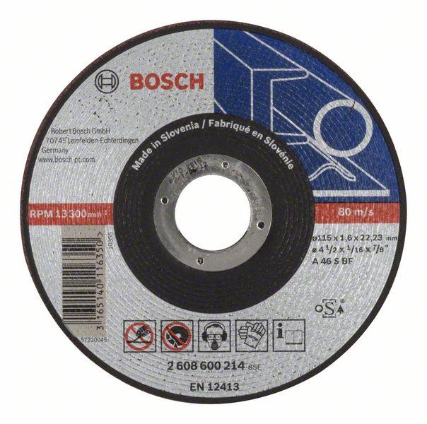 Griešanas asmens Bosch Metal Cutting Disc 115x22mm