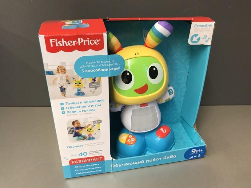 Fisher Price Bright Beats Dance & Move BeatBo DJX26, RU (поврежденная упаковка)